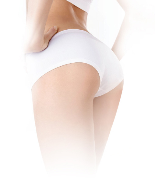 Lower body after body contour treatment