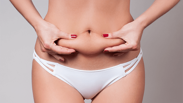 skin tightening service for lower abdominal area
