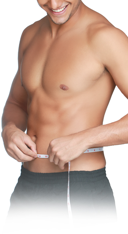 Abdominal coolsculpting treatment for men