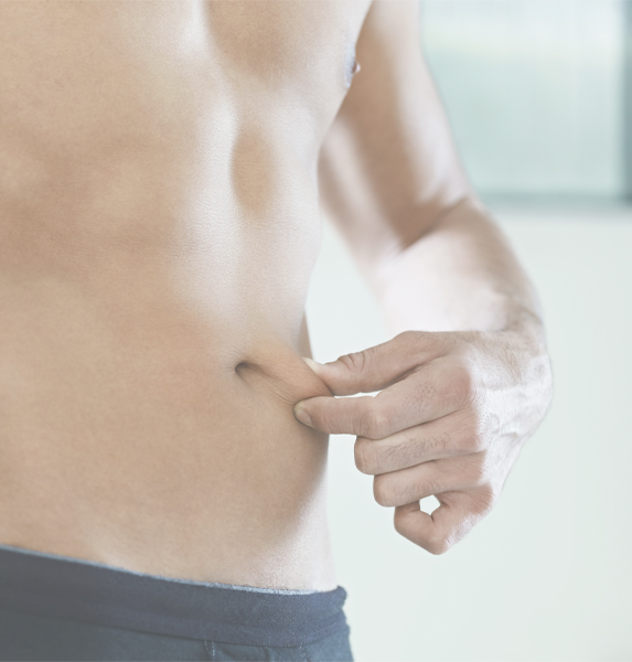 Body contour treatment for men