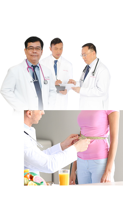 professionals offering slimming treatment services