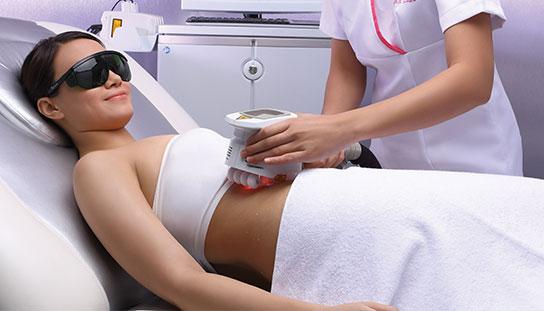 example of ilipo laser procedure