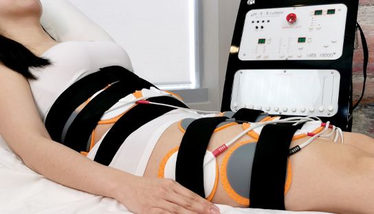 Non invasive thermo magnetic pulse treatment