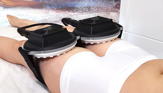 Vara pulse fat reducer procedure in legs