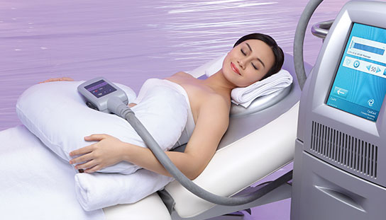 Non invasive relaxing vela contour treatment